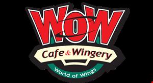 Wow Cafe & Wingery logo