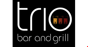 Trio Bar and Grill logo