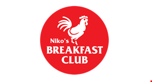 Nikos Breakfast Club logo