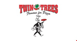 Product image for Twin Trees 57 $5 off any large pizza.