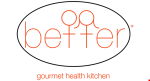 Product image for Better Gourmet Health Kitchen 20% off entire order