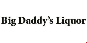 Product image for Big Daddy's Liquor 10% off Any Item