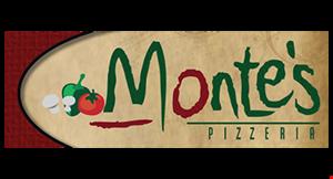 Monte's Pizzeria logo