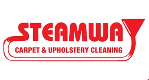 Product image for Steamway Carpet & Upholstery Cleaning $150 sofa & loveseat special.