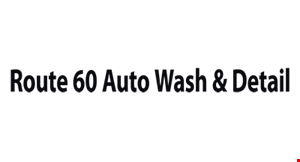 Product image for Route 60 Auto Wash & Detail $22 For 2 Full Service Mini Detail Washes (Reg $44)
