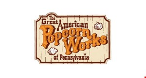 The Great American Popcorn Works of Pennsylvania logo