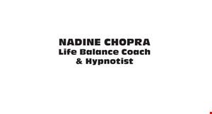 Nadine Chopra Life Balance Coach & Hypnotist logo