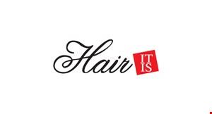 Hair It Is logo