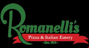 Romanelli's Pizza & Italian Eatery logo