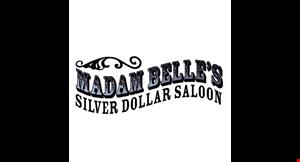 Madam Belle's Silver Dollar Saloon logo