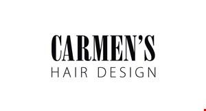 Carmen's Hair Design logo