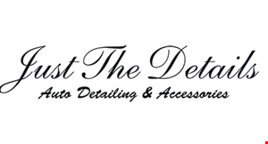 Just The Details logo
