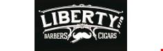 Liberty Barbers logo