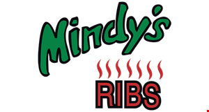 Product image for Mindy's Ribs $2 Off Any Food Purchase  of $10 or more before tax