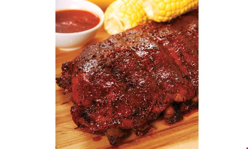Product image for Mindy's Ribs $4 Off Full Slab Dinner, $2 Off Half Slab Dinner