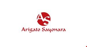 Arigato-Sayonara logo