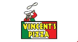 VINCENT'S PIZZA & FAMILY RESTAURANT logo