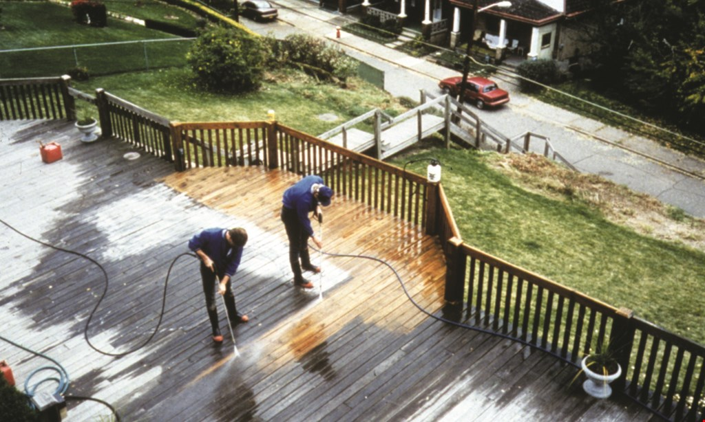 Product image for Nu-Again Deck & Fence Renewal $50 off any service