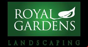 ROYAL GARDENS LANDSCAPING logo
