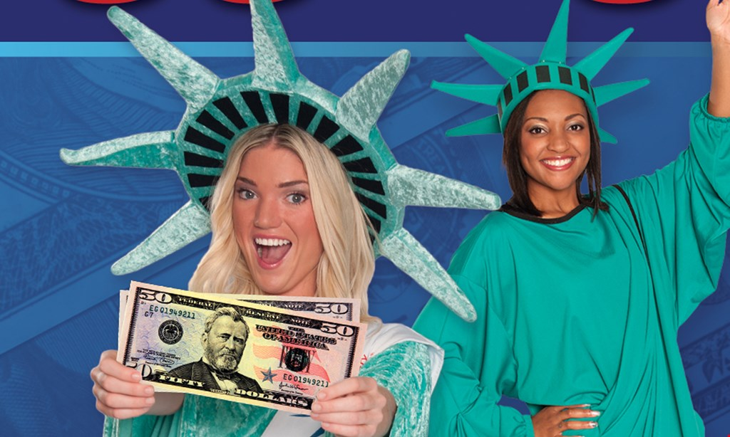Product image for Liberty Tax Services $50 off tax preparation.