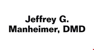 Jeffrey G. Manheimer, DMD logo