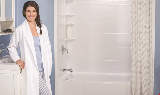 Product image for Bath Fitter Up to $750 off based on 10% of total purchase