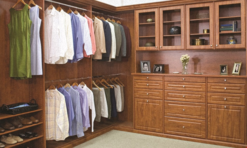 Product image for Closets By Design 40% OFF Plus FREE Installation!