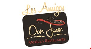 Product image for Don Juan & Los Amigos FREE $8 value · with a lunch or dinner purchase new customers only by signing in with the app or email with us appetizer.