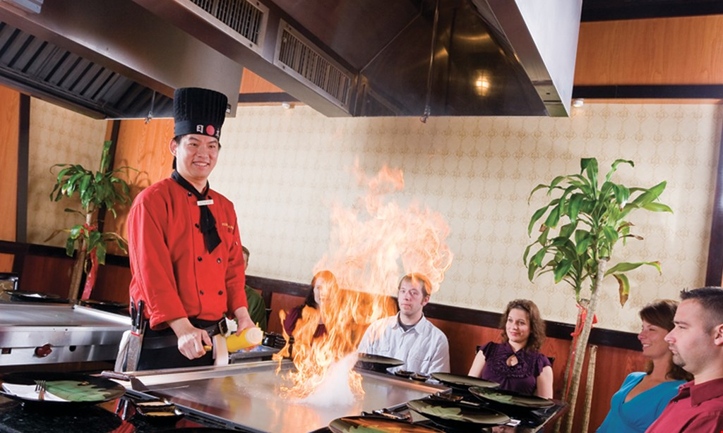 Product image for Izumi Japanese Steakhouse and Sushi Bar $10 OFF dine in only · dinner only.