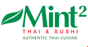 Mint2 Thai & Sushi logo