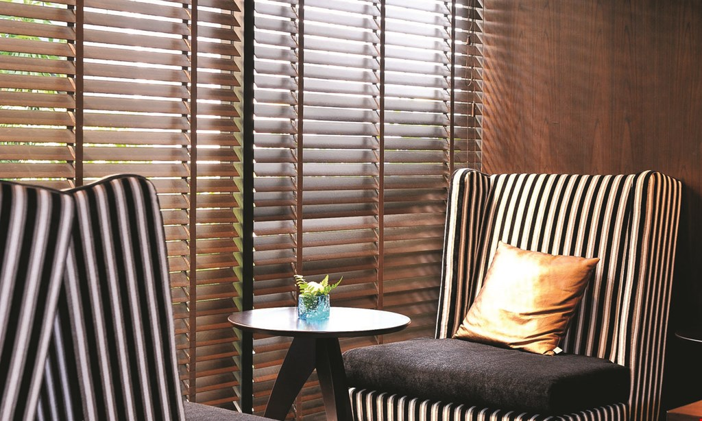 Product image for Budget Blinds 50% off Buy one Select Signature or Enlightened Style Window Treatment and get the 2nd 50% off.