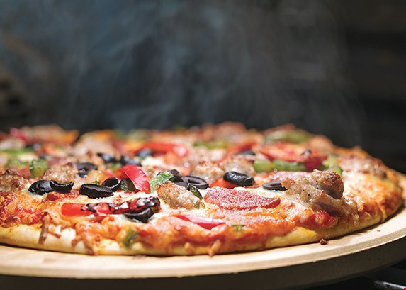 Product image for Sardo's Pizza And Fish Fry TAKEOUT SPECIAL - $5 off any large pizza at regular price. Must present coupon