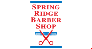 Product image for Spring Ridge Barber Shop $1 off any service