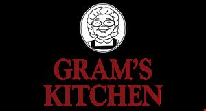 GRAM'S KITCHEN logo