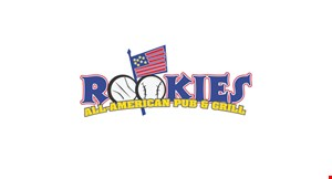 Product image for Rookies All-American Pub & Grill 10% off any pickup or curbside delivery order.