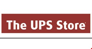 Product image for The UPS Store $2 OFF packaging