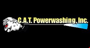 Cat Powerwashing logo