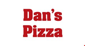 """Product image for Dan's Pizza $2 off any 12"""" pizza"""