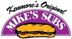 Product image for Mike's Subs $5 off Any purchase of $30.00 or more