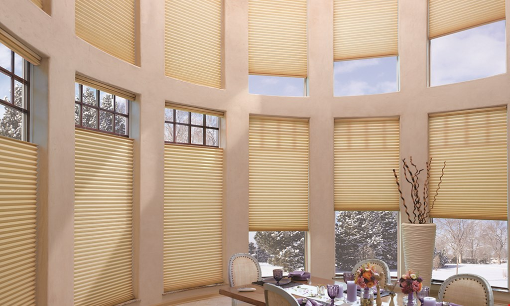 Product image for Blinds and Designs LLC FREE LiteRise® Cordless operating system for Duette® Honeycomb Shades.