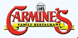 Product image for Carmine's Family Restaurant 50% off panini