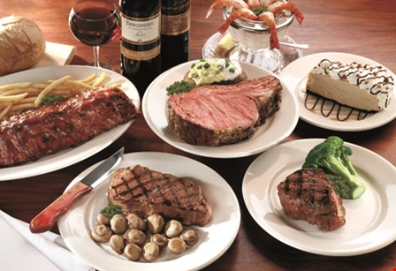 Product image for Hunter Steakhouse $10 off purchase of any 2 full dinner entrees
