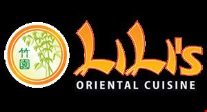 Lili's Oriental Cuisine logo