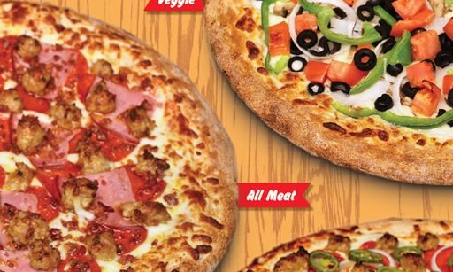 Product image for PORKY'S PIZZA The Feast $36.99.