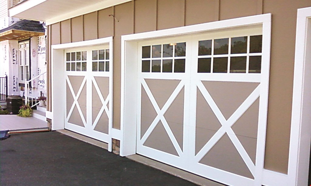 Product image for Armor Overhead Door $100 off double door. $50 off single door