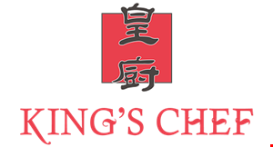 Kings Chef Chinese Food logo
