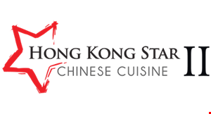 Product image for Hong Kong Star II Chinese Cuisine 20% off Your Entire Purchase