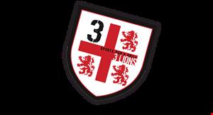 3 Lions Sports Pub & Grill logo
