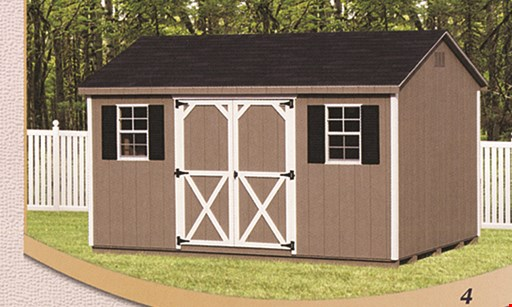 Product image for Best Built Sheds & Outdoor Structures $800 off any garage 12'x18' thru 12'x30'.