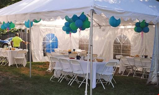Product image for Zapadeedoodah Balloons & Promotions $499 tent rental package #2
